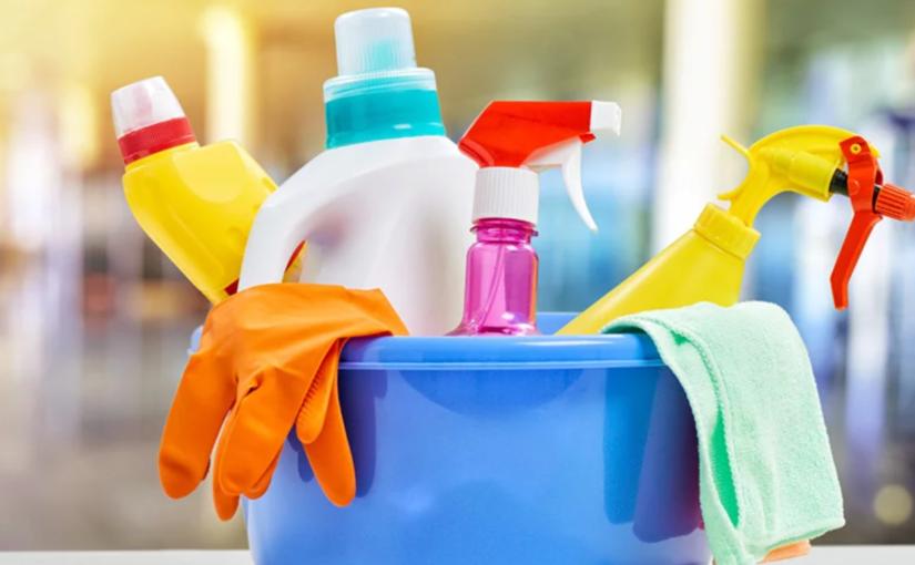 Produtos de limpeza causam alergia?