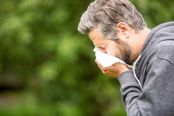 Complicações mais comuns de crise de alergia não controlada